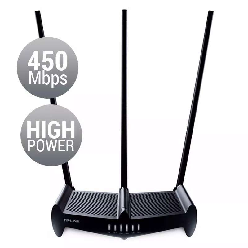 Router Wifi Tp Link Wr941hp Norma N 450mbps 3 Antenas